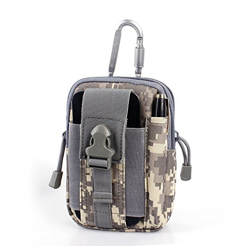 Compact Multi-Purpose Tactical MOLLE EDC Utility Gadget